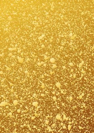 glitter background oro. Modello astratto vettoriale. confezione lucido. patina d'oro. fondo oro lucido