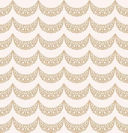 islam modello trasparente. Vintage sfondo floreale. Vector islamico modello oro reale. Design orientale e carta da parati barocco