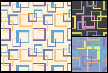 repeat square: squares pattern, decorative modern pattern, geometric pattern, seamless pattern, decorative background, squares background