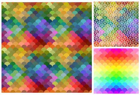 mosaic background: Abstract mosaic pattern, mosaic pattern, abstract background, colored pattern, abstract pattern, mosaic background, rainbow background Illustration