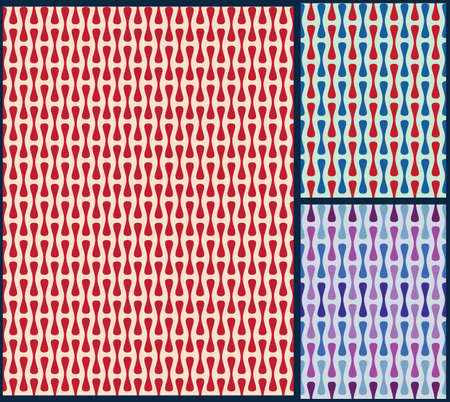 retro pattern, fabric pattern, wrapping pattern, simple retro pattern, geometric pattern, shape pattern, retro background, wave pattern