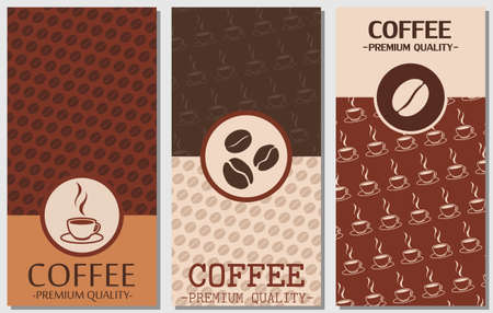 package design: coffee card design, coffee package, coffee design, coffee banner, cafe design, package design