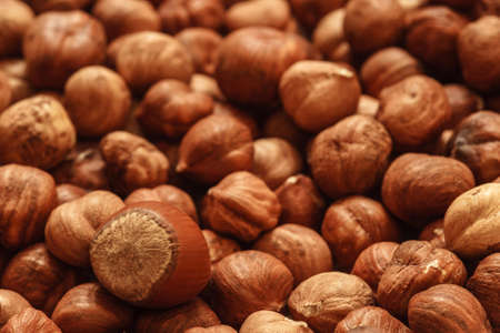 peeled hazelnuts, hazelnut background, natural nuts, vegetarian food, hazelnuts without shell