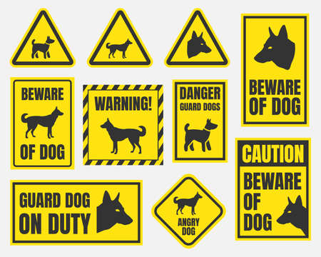 Beware of dog sign royalty free stock images image