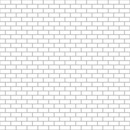 brick wall vector background, bricks seamless pattern Illusztráció