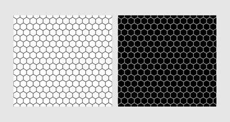 hexagon seamless patterns, texture of the hexagonal net