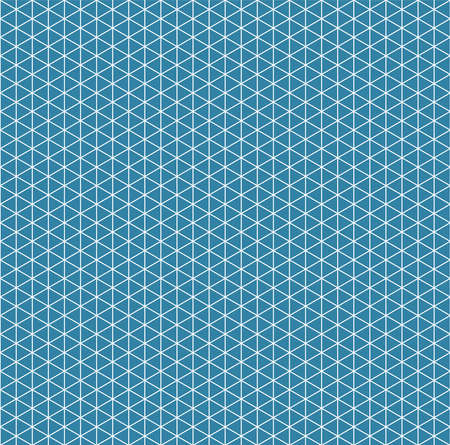 Abstract isometric grid seamless pattern, geometric texture Ilustração