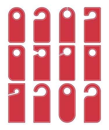 do not disturb hotel sign, door hanger templates