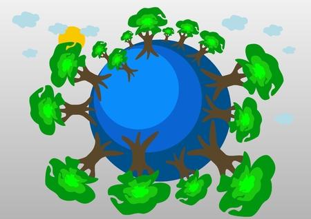 air awareness: The Blue Planet Grne