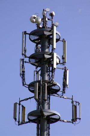 transcription: mast for mobile phone