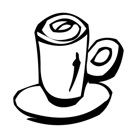 coffee cup as clipart