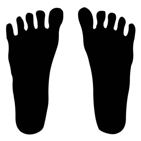 shadowgraph: the left by a foot on the ground