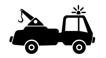 scrapyard: Tow car in action