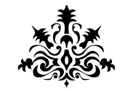 the distinctive heraldic bearings of a family