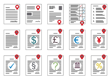 contracts: contracts as clip art