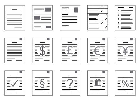 contracts as a clip art