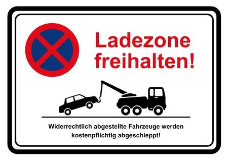 Loading Zone keep free