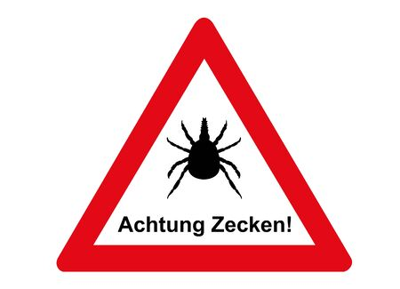 Attention tick, please do not enter!