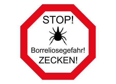 Wetland, here borreliosis danger! 版權商用圖片 - 142692462