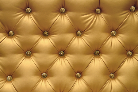Golden leather background, vintage texture.