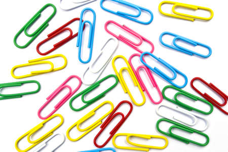paper clip: paper clips background