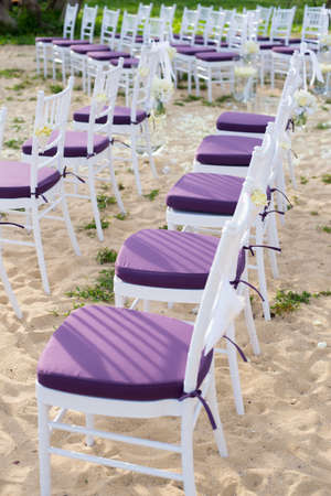 wedding chairs: decoration of wedding chairs