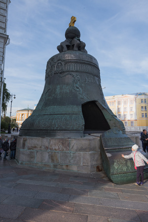 ivan: MOSCOW - SEPTEMBER 05 2015:  Bell tower of Ivan the Great, the Moscow Kremlin. Russia