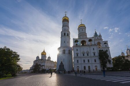 unesco: MOSCOW - SEPTEMBER 05, 2015: Moscow Kremlin. UNESCO World Heritage Site.