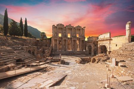 Celsus-Bibliothek in Ephesus, Türkei