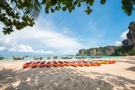 Railay Strand in Krabi Thailand