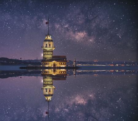 Jungfrauenturm in Istanbul, Türkei