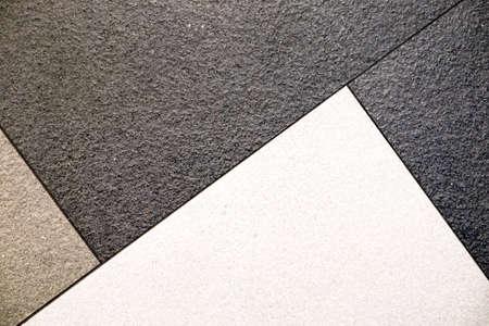 abstrakte muster: schwarz grau weißen Fliesen abstrakte Muster Hintergrund Lizenzfreie Bilder