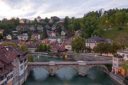 wereldschatstad, Bern Zwitserland Stockfoto