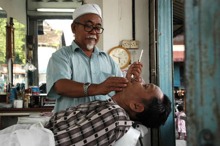 Traditional Barber Stock Photo - 2355621