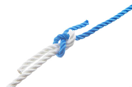 Sheet bend isolated on white background