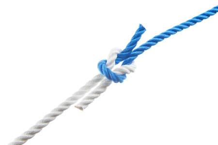 Thief knot  isolated on white background