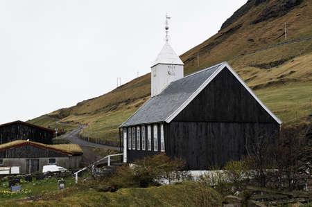 Small village church photo