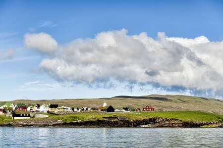 Island on a summer day