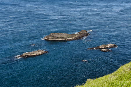 Landschaft in den Färöer-Inseln Standard-Bild - 21612226