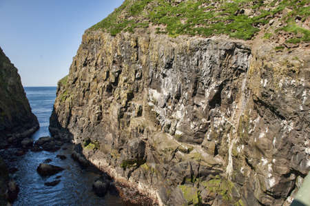 Landschaft in den Färöer-Inseln Standard-Bild - 21612230