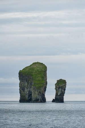 Landschaft in den Färöer-Inseln Standard-Bild - 21612327
