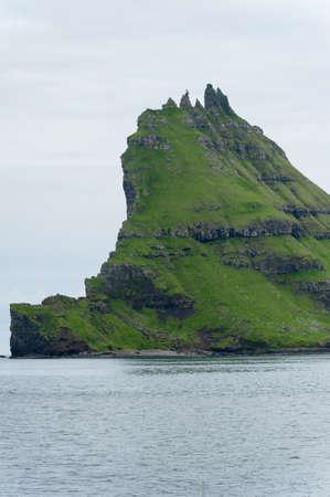 Landschaft in den Färöer-Inseln Standard-Bild - 21612332