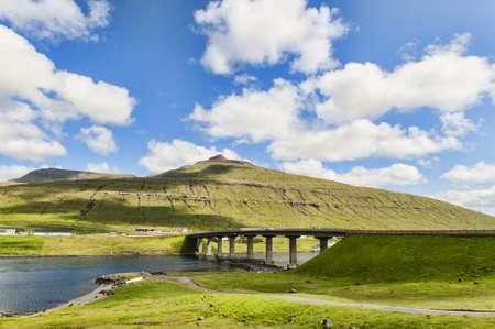 Landschaft in den Färöer-Inseln Standard-Bild - 21612463