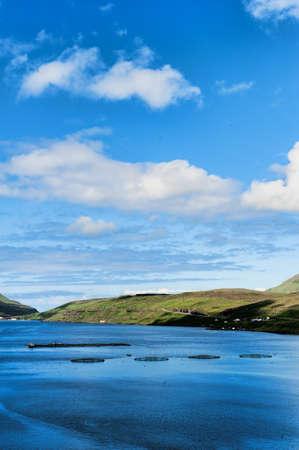 Salmon farming in the Faroe Islands