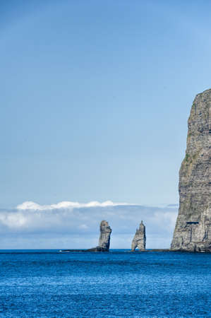Landschaft in den Färöer-Inseln Standard-Bild - 21612754