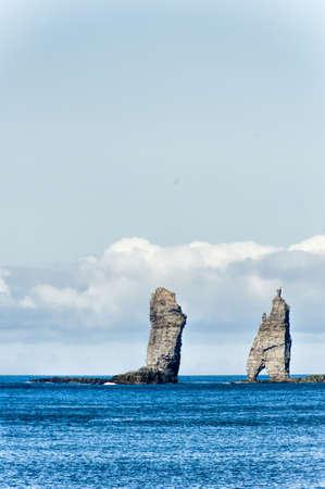 Landschaft in den Färöer-Inseln Standard-Bild - 21612764