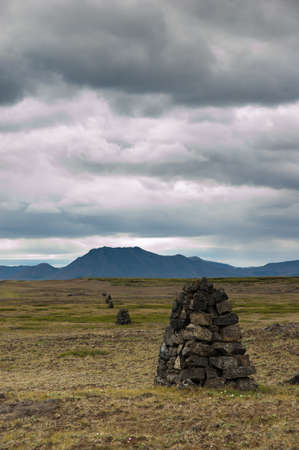 cairn: Guiding Cairn in Iceland