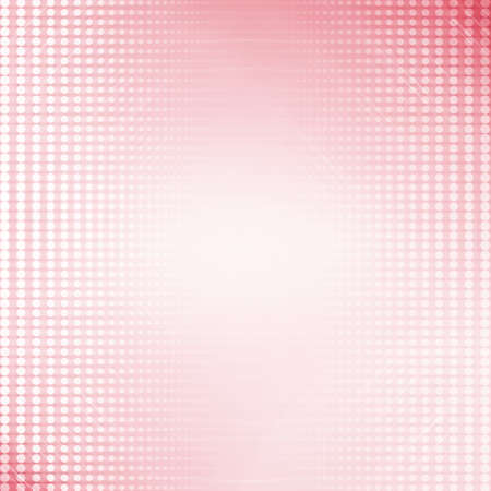 Red or pink graphic pattern design background with white round dots and lighting effect.