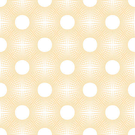 Yellow graphic pattern design background with white round dots.