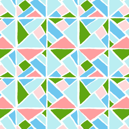 Colorful abstract geometric pattern